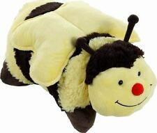 "MOOKIE TOYS 18"" GENUINE PILLOW PET BUMBLY BEE CUDDLY ANIMAL"