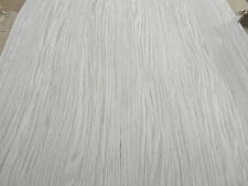 "Oak Plank Silver Gray composite wood veneer sheet 24"" x 96"" raw no backing 1/42"""
