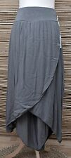 LAGENLOOK BEAUTIFUL AMAZING QUIRKY HAREM TROUSERS/PANTS***GREY***SIZE M-L-XL