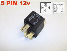 5 PIN 12v 40Amp AUTOMOTIVE CHANGEOVER RELAY CAR VAN DIODE ACROSS COIL ( 18 )