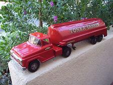 1950'S TONKA GASOLINE TANKER TRUCK ~EXCELLENT CONDITION~