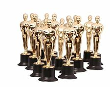 Kangaroo, Gold Award Trophies, 6 Statues 6 Pack Oscar Figurine Party game