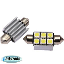 LED Soffitte Lampe C5W Canbus 39mm 12V 6x SMD Innen Beleuchtung o. Nach Glimmen