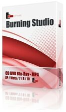 Dvd/cd/bluray burner burning software copy backup modifier créer clone ripper studi