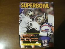 SUPERBOWL RIVISTA FOOTBALL AMERICANO  N.6 MAGGIO 84 +  POSTER San DIEGO CHARGERS