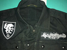 Satanic Warmaster Black Metal Army Shirt Horna Beherit Behexen Archgoat Sargeist