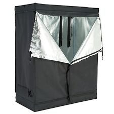 "48""x24""x60"" 600D Indoor Grow Tent Room Reflective Mylar Hydroponic Non Toxic Hut"