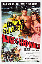 LA STREGA ROSSA WAKE OF THE RED WITCH MANIFESTO JOHN WAYNE GAIL RUSSELL