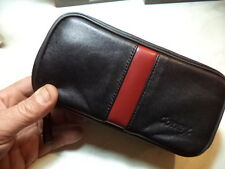 CONEY BORSA BORSELLO IN PELLE PORTAPIPE 1  E ACCESSORI PER 2 PIPE PIPE BAG NUOVA