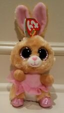 "TY Beanie Boos - TWINKLE TOES Ballerina Bunny 9"" cute Easter Rabbit New w Tags!"