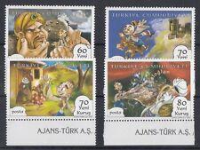 TURCHIA-TURKEY 2007 Fumetti 3385-88 MNH