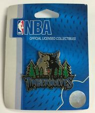 MINNESOTA TIMBERWOLVES NBA OLD LOGO ENAMEL LAPEL HAT PIN FREE SHIPPING