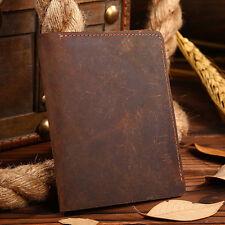 Vintage Men's Bifold Leather Credit Card Holder Business Wallet Purse Billfold