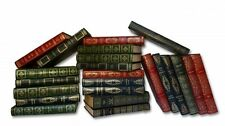Decorative Vintage Faux Leather Books by the Yard /3 ft -  approx 33 books