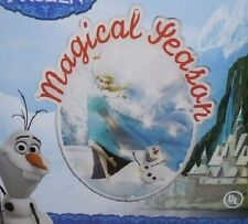 "(7) DISNEY FROZEN CHRISTMAS LIGHT UP 14"" WINDOW SCULPTURE  MAGICAL SEASON"