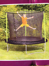 PLUM 8ft Trampoline With Enclosure  New In Box. FREE & FAST  P&P