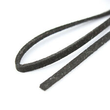 3M Genuine Leather Cord Suede Lace Jewelry Making/Beading/Thread Flat 3mm DIY