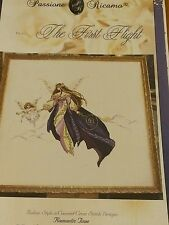THE FIRST FLIGHT CROSS STITCH CHART PASSIONE RICAMO