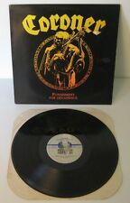 coroner punishment , for decadence noise 1988 RARO!! RARE!