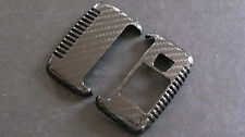 Real Carbon Fiber Key Fob Case Cover For LAND ROVER RANGE ROVER EVOQUE DISCOVERY