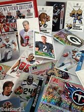 10 STICKERS  YOUR CHOICE 2013 PANINI NFL FOOTBALL Rush Zone Digital Rookie Foil