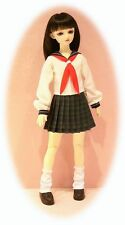 BJD SD pattern Japanese school uniform, copy at 75% or 80% MSD & Ellowyne Wilde