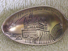 San Francisco CA/Original Cliff House/Engraved Bowl/Sterling Silver Spoon