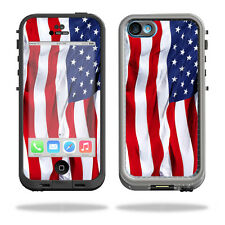 Skin Decal Wrap for LifeProof iPhone 5C Case fre Case American Flag