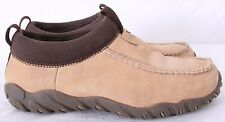 Teva 6853 Casual Lined Suede Winter Slip On Moc Boot Loafers Women's US 10