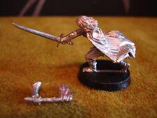 Warhammer LOTR-ARAGORN con pose de metal raro antorcha llameante ()