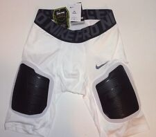 Nike Pro Combat Impact Dri Fit Padded Compression Shorts - Men's Size L White