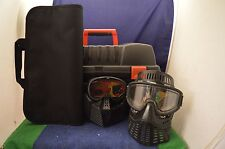 Rare Diabolik Paintball Equipment Case With Two Masks (Sizes Unknown) RD6162