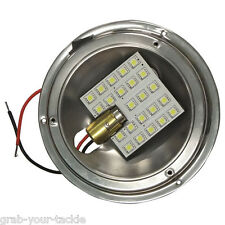 Boat LED CARAVAN INTERIOR DOME LIGHT UPGRADE 12v HIGH OUTPUT LIGHT UPGRADE KIT