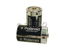 Polaroid D Size Heavy Duty Battery 2 Pack