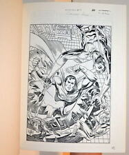 UNPUBLISHED German Bound SUPERMAN - EHAPA COMICS #9 Julius Schwartz FILES RARE