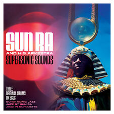 Sun Ra SUPERSONIC SOUNDS Super-Sonic Jazz/Jazz In Silhouette/Jazz By NEW 3 CD
