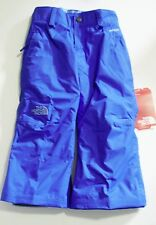 The North Face Girls Derby Insulated Pant Vibrant Blue Sz XXS (5) - NWT