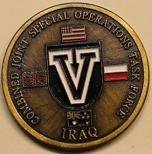 5th Special Forces Combined Joint Spec Ops Task Force Military Challenge Coin