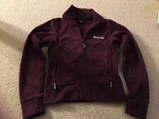 Bench men's fleece jacket in burgundy - small size - good condition