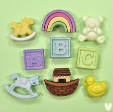 BUTTONS GALORE Nursery 4426 - New Baby Shower Emabellishments Dress It Up