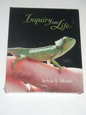 INQUIRY INTO LIFE with Connect Plus Access Card by Sylvia Mader 13th Ed 2010 NEW