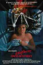 Nightmare On Elm Street 1 Poster 01 A3 Box Canvas Print