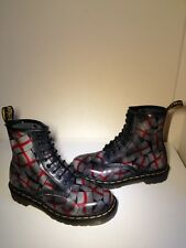 Vgc! Sz5 England St.George's Flag Dr.Martens 1460 Limited Edition Leather Boots