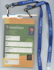 Orig.Day Pass   XII.Summer Paralympics ATHEN 2004 - for IOC Members  !!  RARE