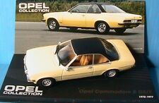 OPEL COMMODORE B GS-E 1972 1977 YELLOW LIGHT IXO 1/43 ALTAYA JAUNE CLAIR LH