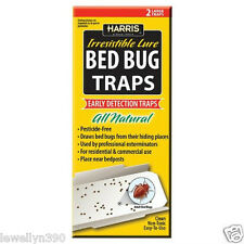 HARRIS BBTRP All Natural BED BUG Pest Traps WITH LURES REV010612  NEW!!