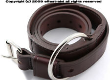 Boston Leather Police Restraint Belt For Handcuffs to Waist Prison Restraints