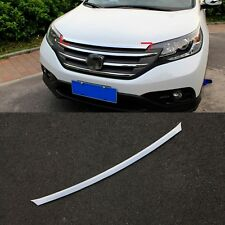 Chromed Front Hood Centre Grille Upper Cover Trim For 2012-2015 Honda CRV CR-V