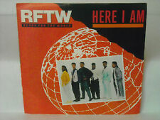 "RARE NEAR MINT PROMO 45 RPM ""HERE I AM~RFTW-READY FOR THE WORLD""  *1 OR 2 PLAYS"