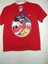 new sz S youth TWEETY & SYLVESTER T SHIRT LICENSED by LOONEY TUNES